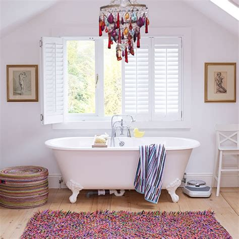 Family Bathroom Ideas by Bright And Vibrant Vintage Bathroom Family Bathroom