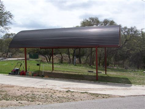 Custom Car Port by Custom Arched Carport With Decals Bulverde Tx Carport