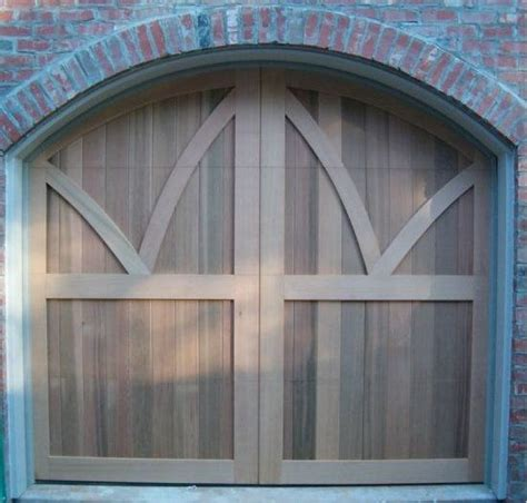 Western Red Cedar Carriage Doors Made By American Garage Western Overhead Door