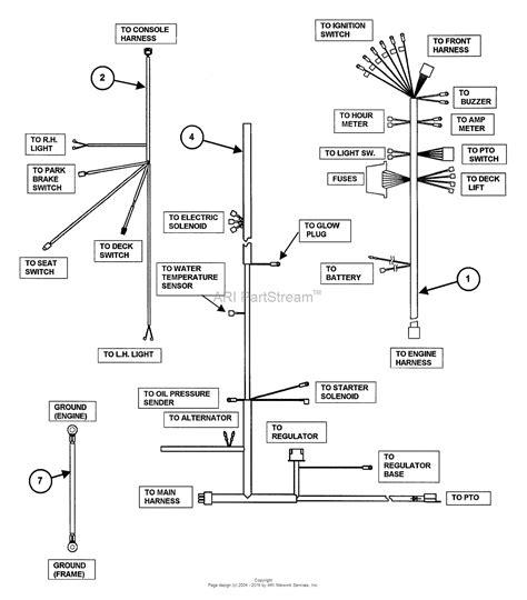 kubota b7100 ignition switch wiring diagram cub cadet