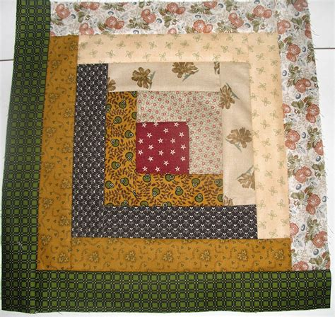 pins and tangled needles log cabin quilt block lore