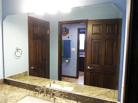 custom mirrors for bathrooms custom bathroom mirrors creative mirror shower