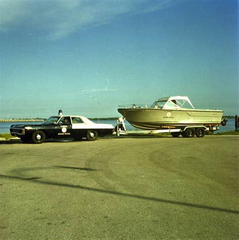 florida marine patrol boats florida memory florida marine patrol officer in vehicle