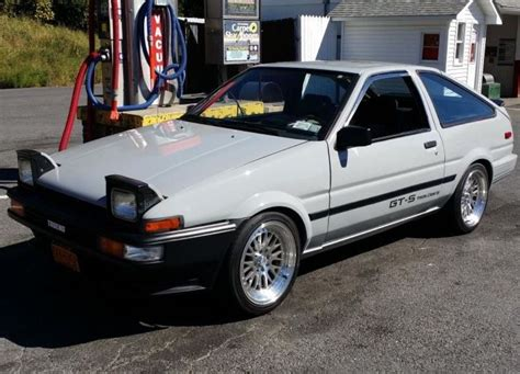 1985 Toyota Corolla 20 Valves And Itb S 1985 Toyota Corolla Gt S Bring A