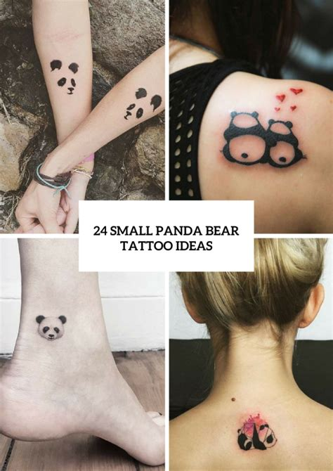Home Design And Style by 24 Small Panda Bear Tattoo Ideas For Girls Styleoholic