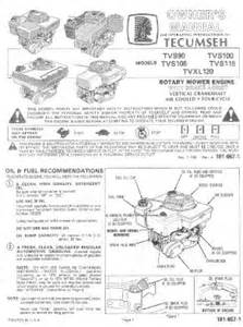 tvs115 mtd tecumseh engine manual for tvs115