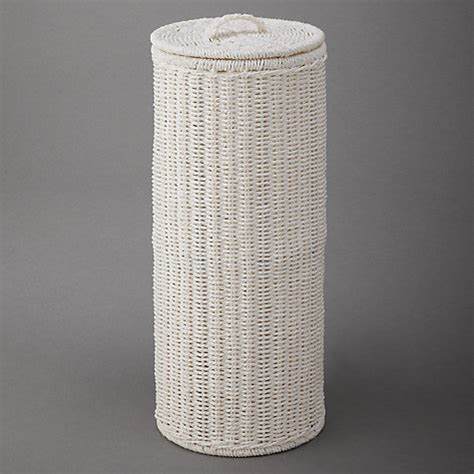 buy john lewis white rope toilet roll holder white john lewis