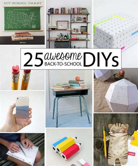 Home Decor Online Shopping Sites 25 awesome back to school diys babble