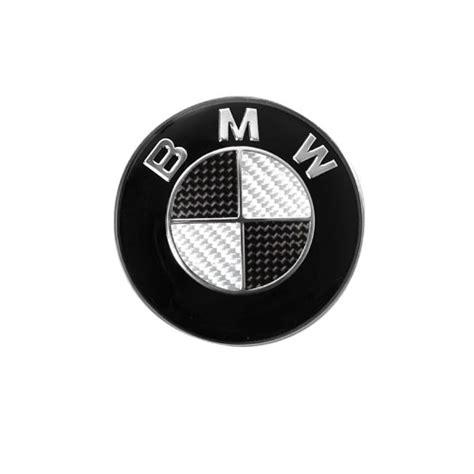 black and silver bmw emblem bmw steering wheel emblem carbon 44mm black and silver ebay