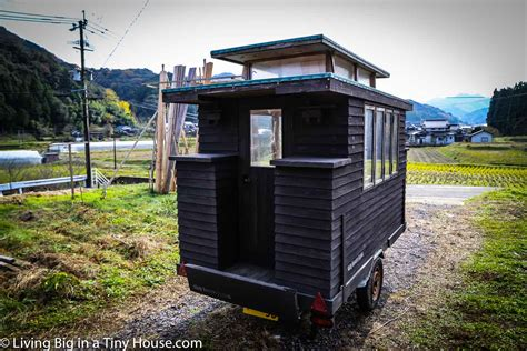 Small Homes Japan Master Craftsman In Japan Builds Amazing Tiny House On