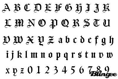 lettere gotiche da stare ecriture gothique japonnaise pinteres