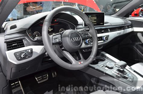 audi a4 2016 interior 2016 audi a4 avant s line interior at the iaa 2015