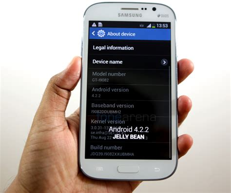 Hp Samsung Android Grand Duos samsung galaxy grand duos android 4 2 2 update starts rolling out in india best technology on