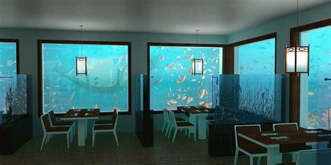 Kitchen Centre Islands Underwater Restaurant
