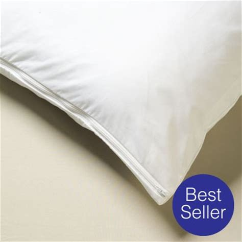 Allergy Free Pillow Covers by Cotton Pillow Protector Covers Allergen Pillow Protector