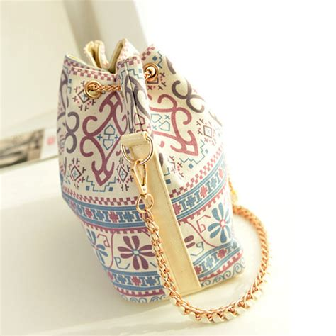 Vintage Bag Tas Wanita Paket Set Selempang Shoulder Bag Korea drawstring vintage bags