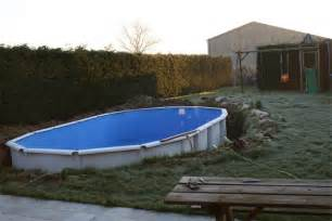 marvelous Piscine En Bois Castorama #5: piscine-semi-enterrée-forum.jpg