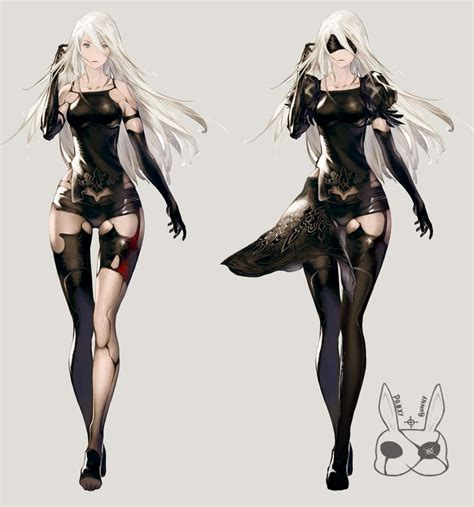 nier automata nier automata a2 re imaginated by proxybunny on deviantart