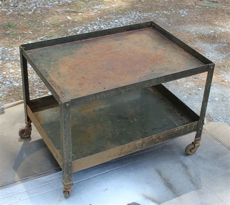 industrial style end tables pottery barn inspired industrial style end table on