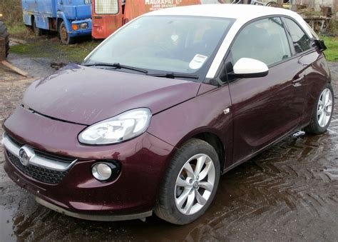 vauxhall purple 2014 vauxhall adam jam 1 2 breaking now