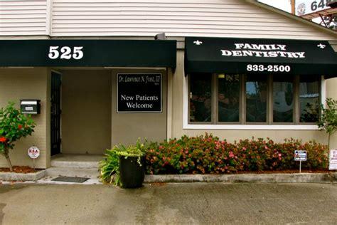 comfort dental fairmont dental office frost family dental in metairie la