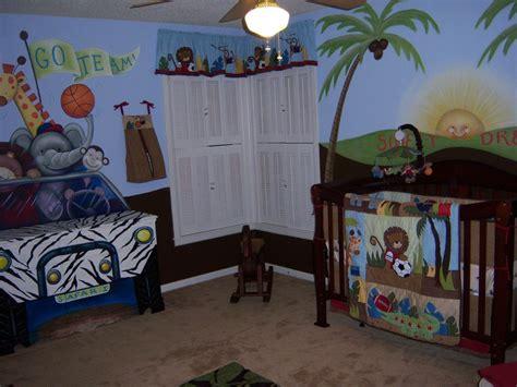 Caleb S Team Safari Nursery Project Nursery Team Safari Crib Bedding
