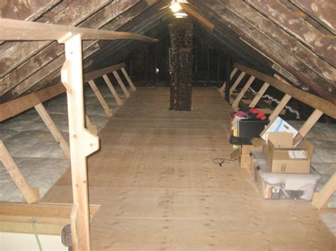 Attic Floor by Energy Conservation How To Strong Attic Floors