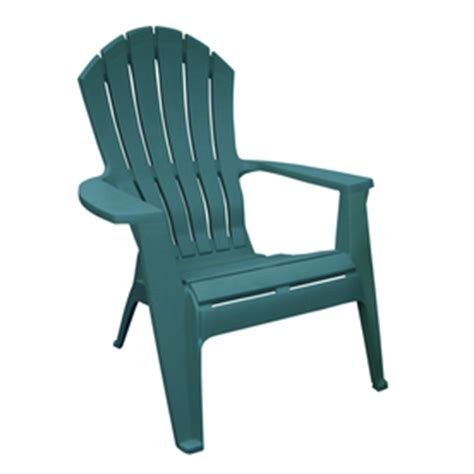 Stackable Adirondack Chairs by Shop Mfg Corp Green Resin Stackable Patio