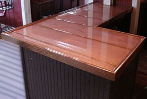 How To Finish A Bar Top A Guide To Copper Bar Tops Tables And More