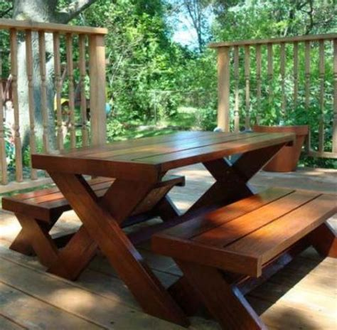 kids picnic bench plans ana white build a build a modern kid s picnic table or