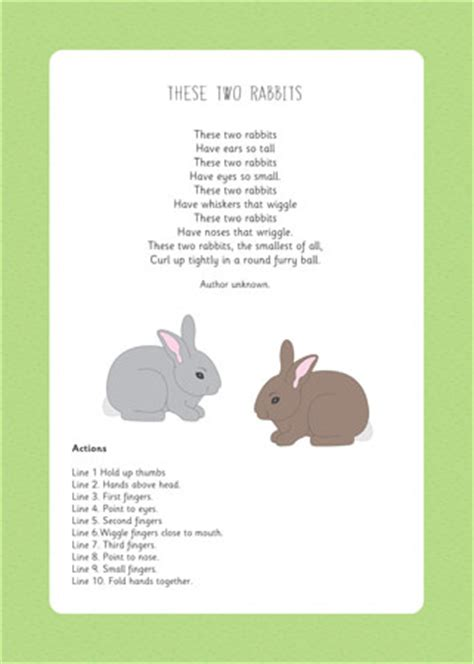 The Rhyming Rabbit these two rabbits rhyme eyfs and ks1 free early years primary teaching resources eyfs ks1