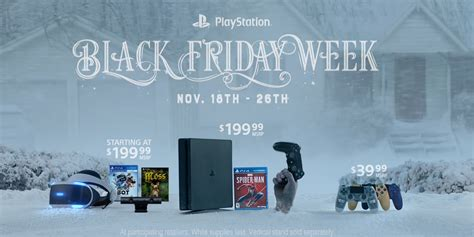 playstation black friday  deals spider man bundle   dualshocks psvr  totoys