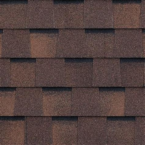 bp mystique 2 tone brown fiberglass laminate shingle