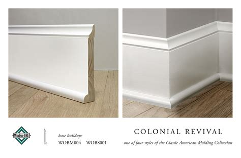 baseboard dimensions colonial revival base molding base buildup for the
