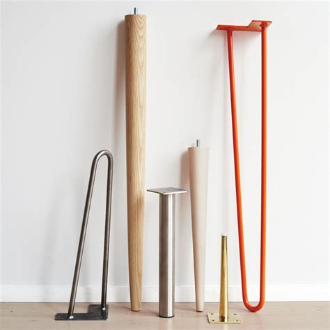 diy mid century table legs table it great legs for your diy table unfinished wood mid century modern and columns