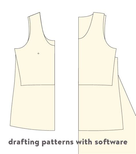 pattern drafting for maternity wear drafting patterns with software cloth habit