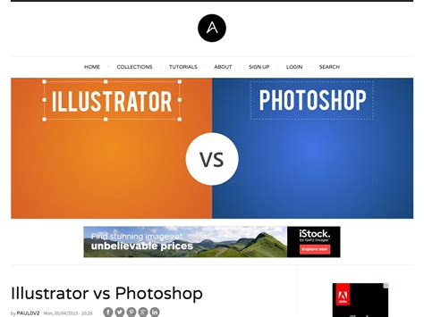 icon design illustrator vs photoshop popular design news of the week may 4 2015 may 10