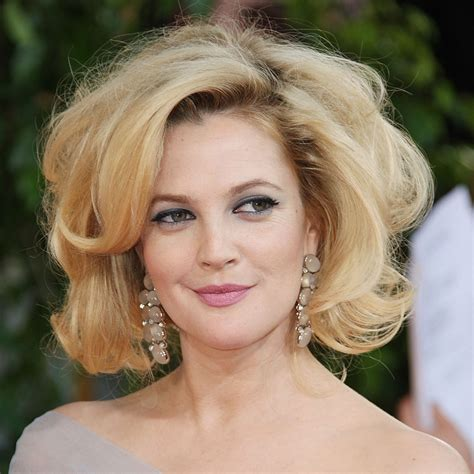 Drew Barrymoores Hair by Best Drew Barrymore Hairstyles Popsugar