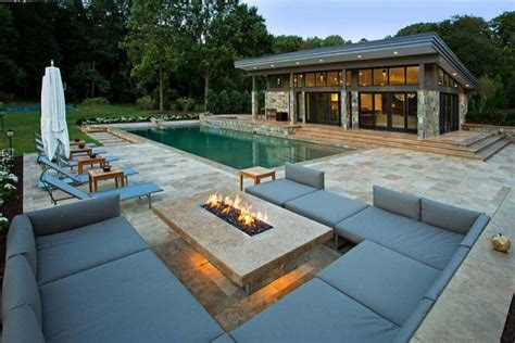 pit sitting area backyard pits that heat up your landscape