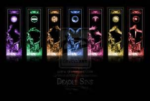7 deadly sins colors the seven deadly sins of a student