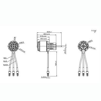 brushless motor wiring diagram electric motor diagram