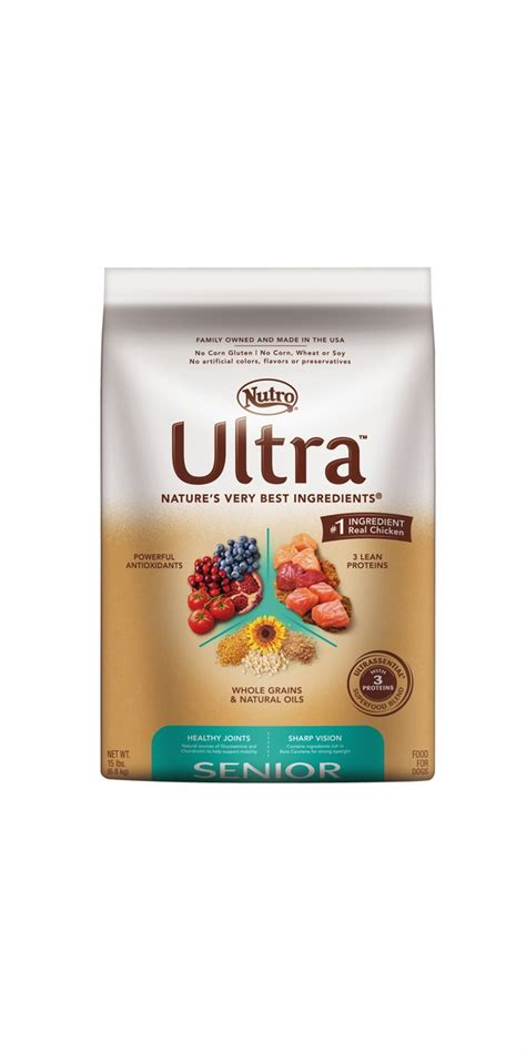 nutro ultra puppy nutro ultra senior food 15 lb