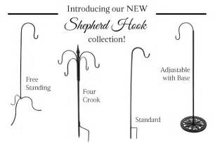 Easy Cheap Home Decorating Ideas our favorite uses for shepherd s hooks linentablecloth