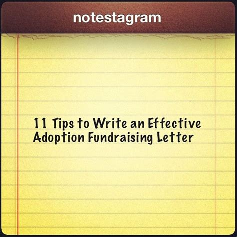 Fundraising Letter Writing Tips 11 Tips To Write An Effective Adoption Fundraising Letter Fundraisingtips Adoptionfundraising