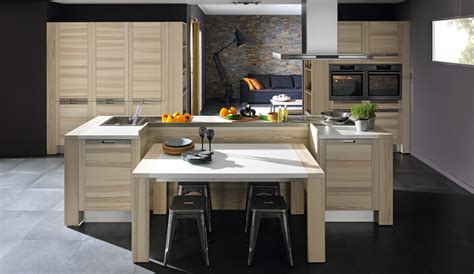 Le Cuisine Design by Cuisine Bois Mod 232 Le Design Attitude