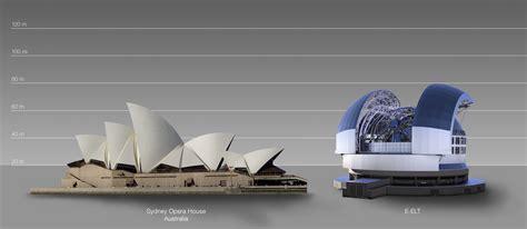 sydney opera house original design the elt compared to the sydney opera house in australia eso