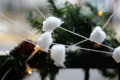snowball garland snowball garland 2 two delighted