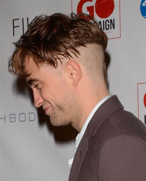 pinky blinders haircut robert pattinson most ridiculous haircut twilight star
