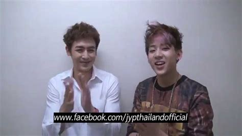 film thailand nichkhun 2pm message from nichkhun and bambam to thai fans youtube