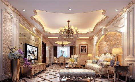 posh home interior luxury 3d house